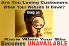 STOP LOOSING CUSTOMERS! Monitor your website for FREE!