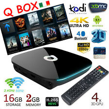 Q Box 16GB 2GB RAM Amlogic S905 Android 5.1 Smart TV Box Quad-Core Kodi WIFI
