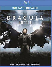 Dracula Untold Blu-ray Disc, 2016, Includes Digital Copy