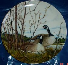 Dominion China Ltd Collectors Plate NESTING - Geese