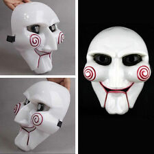 Saw Puppet Halloween Mask Creepy Scary Costumes Prop Cosplay Fun Unisex