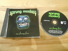 CD Pop Sprung Monkey - Mr Funny Face (13 Song) EDEL HOLLYWOOD REC