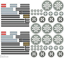 x88 Lego GEARS + AXLES Kit  (technic,nxt,rcx,mindstorms,robot,motor,cogs,ev3)
