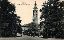 Weimar, Schloßturm mit der Bastille, Feldpost 1916