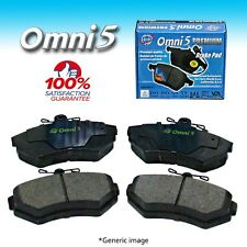BS0224 : Omni 5 Semi Metalic Brake Pad PDM527 Front ISO Certified !!