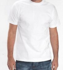 LOT DE 10 TEE SHIRT BLANC . Taille : S  . B AND C . 100 % COTON .  QUALITE .