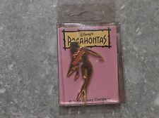 DISNEY POCAHONTAS SILHOUETTE GOLD TONE JAPAN PIN IN ORIGINAL PACKET