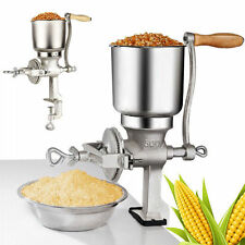 500gm CAST IRON HAND OPERATED CORN GRAIN WHEAT SPICE GRINDER CRUSHER MILL NEW US