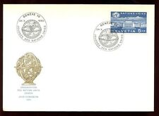 Switzerland 1960, United Nations FDC #C6440