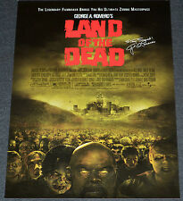 LAND OF THE DEAD 2005 ORIGINAL 11x17 MOVIE POSTER! GEORGE ROMERO ZOMBIE HORROR!