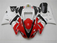 Fairing Red Black White Injection Plastic Fit for Yamaha 1998 1999 YZF R1 g021
