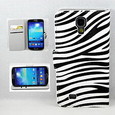 Modish Leather Phone Wallet Cover Case Stand For Samsung Galaxy S4 SIV i9500