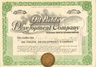 Oil Fields Development Company 1918 Arizona stock certificate share