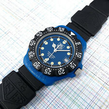 TAG Heuer Midsize Royal Blue Dial, Formula 1  381.513/1 New Bezel, Glass Battery