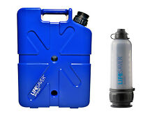 LIFESAVER JerryCan 20,000L + LIFESAVER 6,000L bottle Water Filtration Bundle