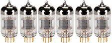 New 6x Electro Harmonix Gold 12AX7 / ECC83 | Matched Sextet / Six Tubes