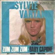SYLVIE VARTAN ZUM ZUM ZUM - BABY CAPONE 45 GIRI