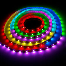 MULTICOLOUR FAIRY 5M RGB LED STRIP WITH POWER ADAPTER AND IR REMOTE CONTOL