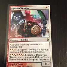 MTG MAGIC FOIL FIRE & LIGHTNING FIGURE OF DESTINY NM