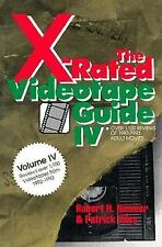 X-RATED VIDEOTAPE GUIDE V : OVER 1,000 REVIEWS OF 1993-1994 ADULT MOVIES, RILEY,