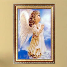 DIY 5D Diamond Embroidery Angel girl Painting Cross Stitch Craft Home Wall Decor