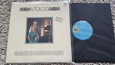 Abba - Antologia Abbantologiabba LP Spain BLAUES LABEL