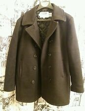 MEN'S - SCHOTT - U.S. 740N - DOUBLE-BREASTED - WOOL PEA JACKET (COAT) - SZ. 44