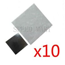 10pcs 20x20mm Double Side Square Thermal Adhesive Tape Pads for Heat Sink
