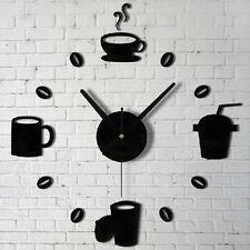 Kunst Wanduhr Uhrwerk Uhr Bilder Aufkleber Wandtattoo Deko Wandaufkleber Dekor