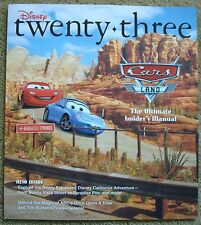 Disney D23 Twenty-Three Magazine Fall 2013 Cars Land Radiator Springs