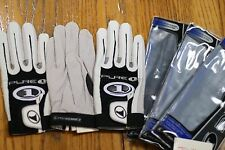 PROKENNEX RACQUETBALL GLOVE PURE ONE, 3 GLOVES, WHITE, RIGHT HAND  LARGE L