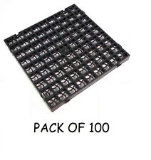 PACK OF 100 GRASS GRIDS DRIVEWAY DRAINAGE GRAVEL TURF SOIL PAVING LAWN SHED BASE