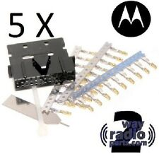 5 Pack Motorola PMLN5072 MotoTRBO Rear Accessory Connector Kit XPR 5550 XPR 4550