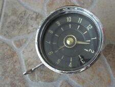 Borgward, Zeit Uhr, Autouhr, mechanische Uhr, VDO Kienzle, Borduhr, alte Autouhr