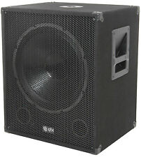QTX qt18sa 18 Pulgadas 1000 W Active Powered Subwoofer Bass Cubo Parlante Dj Disco