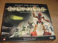 """2001 Lego Bionicle """"Quest for Makuta"""" Adventure Game, used"""