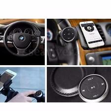 Wireless 12M Bluetooth Media Button Remote Control Car Steering Wheel Smartphone