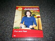 30 MINUTE MEALS Rachael Ray Food Network TV Show 3 DVDs FUN AND FAST DVD SET NEW