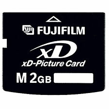 Fujifilm Type M  2GB XD-Picture Memory Card for Fujifilm Digital Cameras fuji