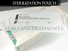 "Autoclave 200 PC Premium Sterilization Pouch Bag Self Sealing 5.25"" x 10"""