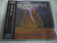 TRIUMPH-In The Beginning... JAPAN 1st.Press w/OBI Rush AC/DC Kiss Iron Maiden
