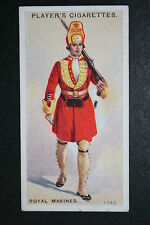 Royal Marines circa 1741    Original 1913 Vintage Uniform Card