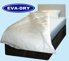 "EVA Dry Waterproof Single Quilt duvet Cover. Incontinence aid, 54"" x 78"""""