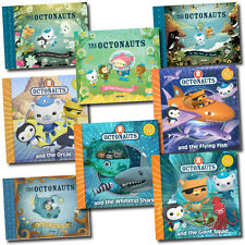 The Octonauts Collection 8 Books Set inc Giant Squid, Orcas, Sea Shade, Monster