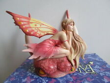 FAIRY SITE FAERIE DRAGON FAE PINK  BY SELENA FENECH NEW IN BOX