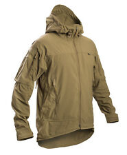 FIRSTSPEAR Coyote Wind Cheater Large Lrg L Hooded Jacket Soft Shell Breaker