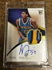 2012-13 Immaculate Anthony Davis 4 Clr Auto 98/99