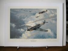 Knight of the Reich Me109 Gunther Rall Robert Taylor Aces Signed Aviation Art