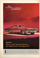 1966 Oldsmobile Olds Starfire Toronado 425 cubic-inch  PRINT AD