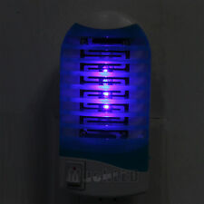 New LED Socket Electric Mosquito Fly Bug Insect Trap Night Lamp Killer Zapper US